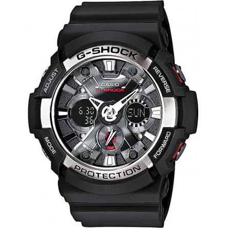 CASIO G-SHOCK GA 200BW-1A